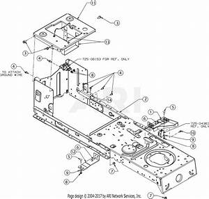 Troy Bilt 13wx78bs011 Bronco  2017  Parts Diagram For Frame