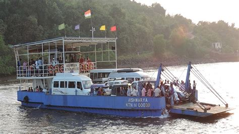 Boat Service Mumbai To Alibaug by Mumbai To Goa From Next April Ferry Your Car On A Boat