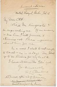 Samuel Clemens  Mark Twain  Autograph Letter Signed 1892