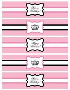 over the top dessert tables bollywood parties and pretty With free printable water bottle labels for birthday