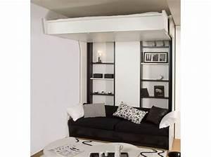 Lit Double Escamotable Ikea : lit double mezzanine ~ Melissatoandfro.com Idées de Décoration