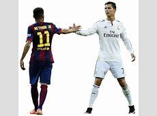 Cristiano Ronaldo & Neymar football render 12099