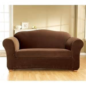 stretch corduroy 3 piece loveseat slipcover by sure fit