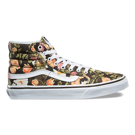 Abstract Floral SK8-Hi Slim | Shop Shoes At Vans