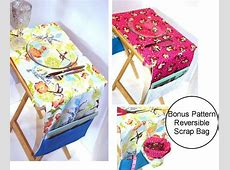 Reversible TV Tray Placemat with Pockets pdf Sewing Pattern