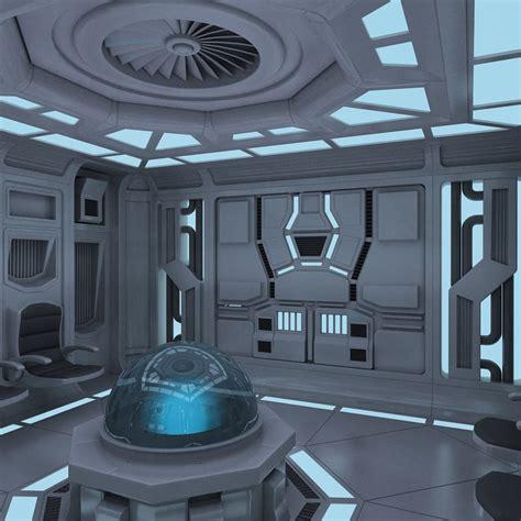 Futuristic Interior 3d Max