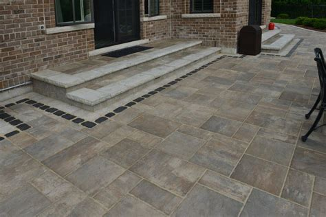 Unilock Patio Pavers - unilock patio designs beacon hill flagstone