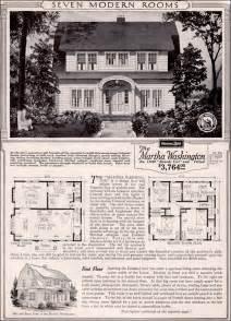 colonial revival house plans martha washington colonial revival kit house plan 1923 sears home honor built