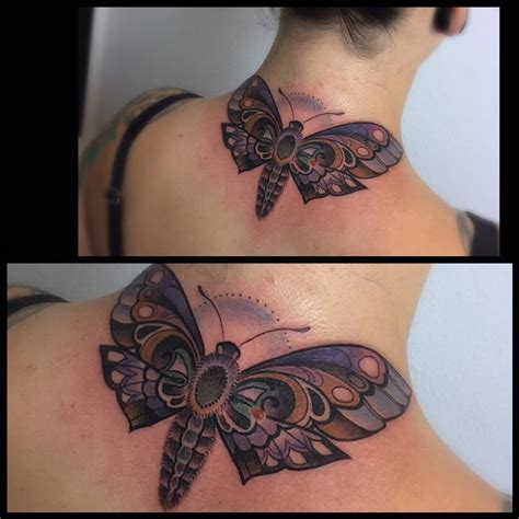 moth tattoo  laura jade tattoos