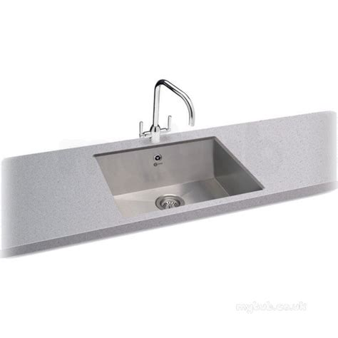 Ss Kitchen Sink by Carron 122 0155 132 Ss Tetra Kitchen Sink With