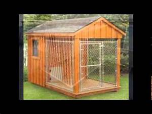 large dog kennel for sale youtube With large wooden dog kennels for sale
