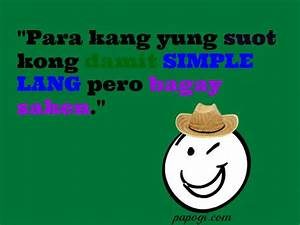 New Funny Tagalog Quotes and Sayings of 2014 - Papogi.com