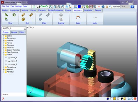 Adams Machinery Simulation Suite For Mechanical Drive