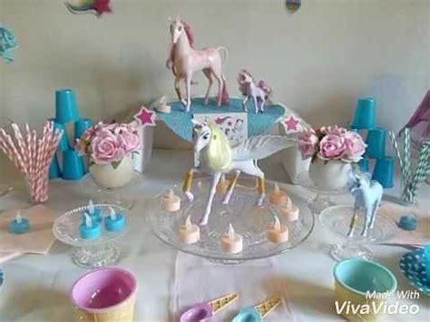 décoration anniversaire thème licorne anniversaire licorne 1