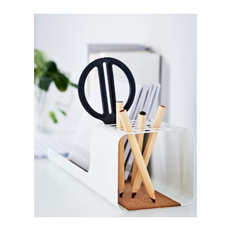 accessoires bureau ikea kvissle desk organiser white ikea
