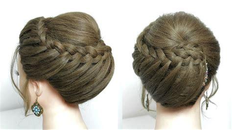 beautiful hairstyle  long medium hair  juda style