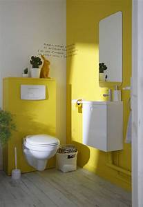 deco wc moderne et tendance cote maison With awesome quelle couleur pour les toilettes 0 quelle couleur dans la salle de bains deco salle de bains