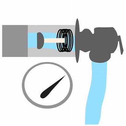 Relief Valve Pressure Water Temperature Animation Heater