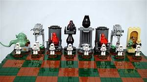 Star Wars LEGO Chess Set Makes For Epic Sci-Fi Gaming