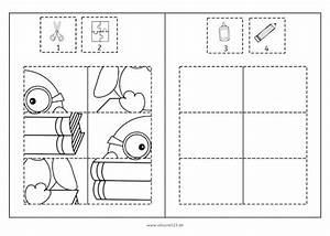 Puzzle Zum Ausdrucken : pinguin puzzles freebie wahrnehmung feinmotorik spa ~ Lizthompson.info Haus und Dekorationen