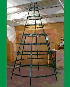 christmas poinsettia tree frame