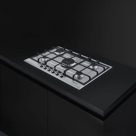 piani cottura 70 cm smeg piano cottura 70 cm 5 fuochi p372xgh fidea lecce
