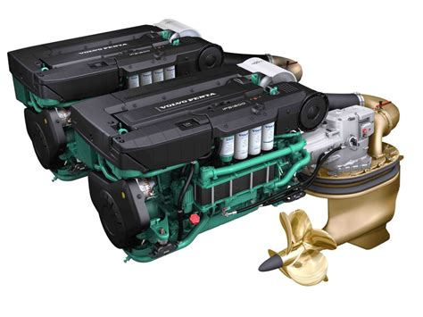 volvo penta  hybrid ips  good combination diesel