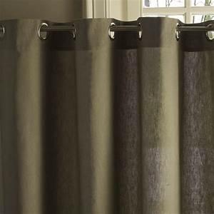 Rideau Lin Pas Cher : rideaux la redoute rideau oeillets m tis lin coton ventes pas ~ Teatrodelosmanantiales.com Idées de Décoration