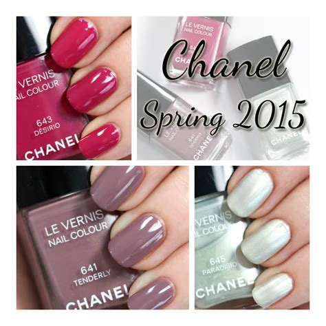 2015 nail colors chanel 2015 nail swatches review all lacquered up