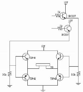 The Circuit Diagram Of A Push