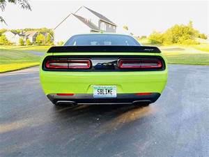 2015 Dodge Challenger Coupe Green Rwd Manual Srt Hellcat