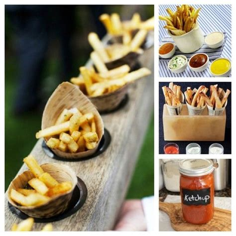 images  french fry station  pinterest