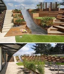 Terrasse Am Haus : terrasse am hang selber bauen wohn design ~ Indierocktalk.com Haus und Dekorationen