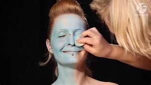 Halloween Make Up Puppe : schminken zu halloween make up vorlage f r horror puppe sally by youtube ~ Frokenaadalensverden.com Haus und Dekorationen