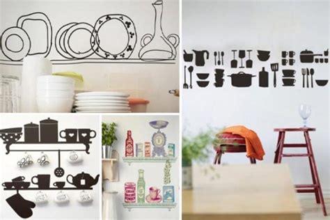 accessoires de cuisine originaux 20 idées intéressantes de déco murale cuisine