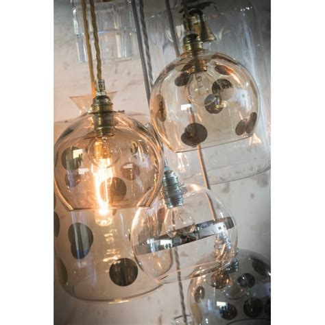kitchen lighting fixtures blown glass ceiling pendant in transparent gold with 2177