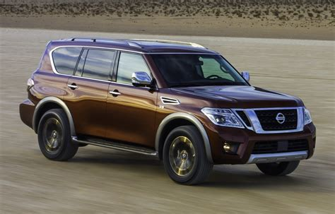 nissan infiniti 2017 2017 nissan armada is north america s patrol or the
