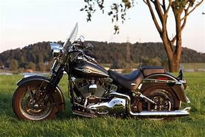 Tacho Harley Davidson Softail : harley davidson heritage softail springer ~ Jslefanu.com Haus und Dekorationen