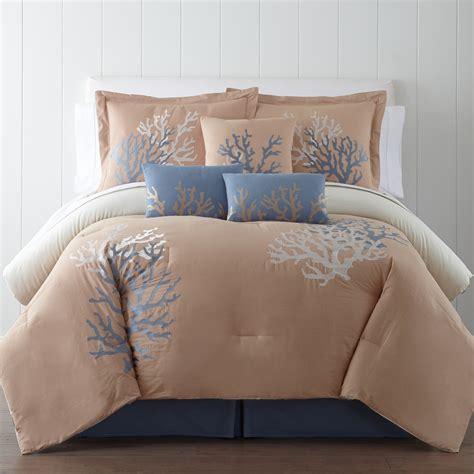 wayfair comforter sets panama coral seas 7 comforter set reviews