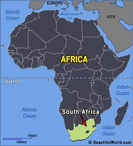 Map Of South Africa - Facts  U0026 Information