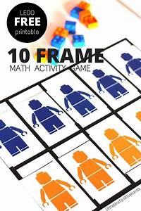 LEGO Math Ten Frame Grid Activity for Numeracy Skills