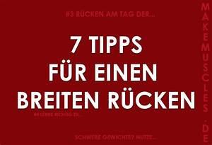 Bmi Jugendliche Berechnen : breiter r cken 7 tipps f r deine r cken bungen make muscles ~ Themetempest.com Abrechnung