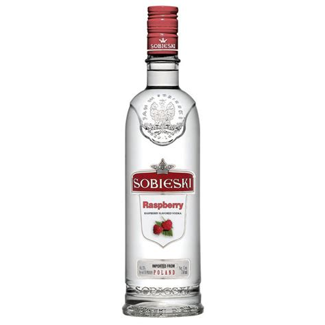 sobieski vodka sobieski raspberry polish vodka 750ml crown wine spirits