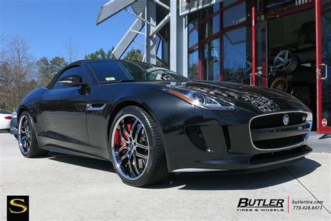 Jaguar F-type On Vossen Wheels