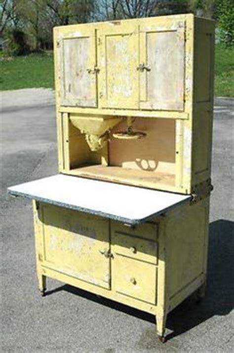 repaint kitchen cabinets early oak hoosier style wilson bakers cabinet w glassware 1859