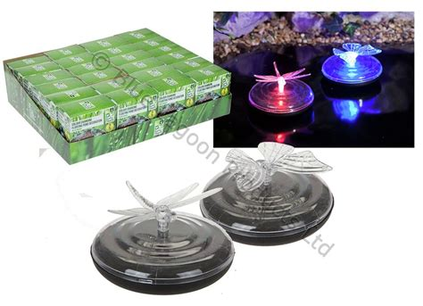 colour changing floating solar powered led light pond pool