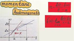 Lokale änderungsrate Berechnen : video nderungsrate in mathe berechnen so klappt 39 s f r ~ Themetempest.com Abrechnung