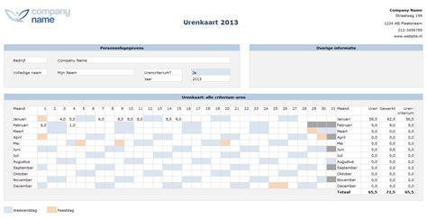 foto de Urenregistratie voor ZZP ers in Excel Excel Business