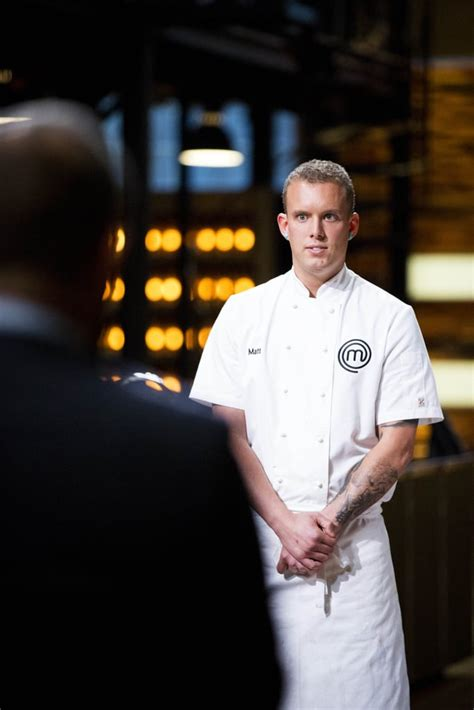 matt sinclair passion quote masterchef runner don celebrity forget put interview know am there popsugar something need reaction before feet