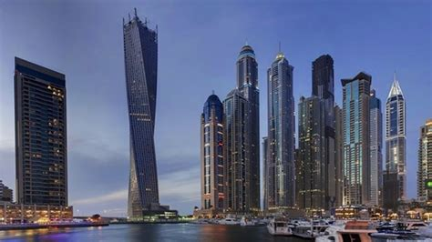 Infinity Tower, Dubai, Uae